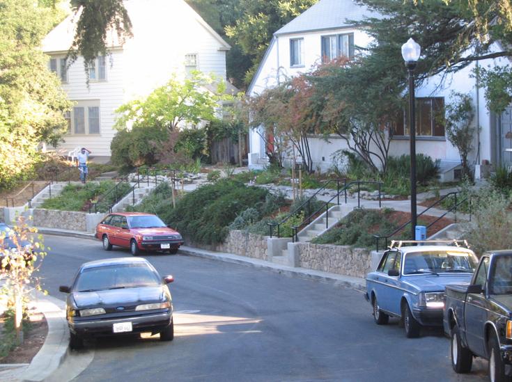 100 block of b street redevelopment gsm landscape for Landscaping rocks vallejo ca